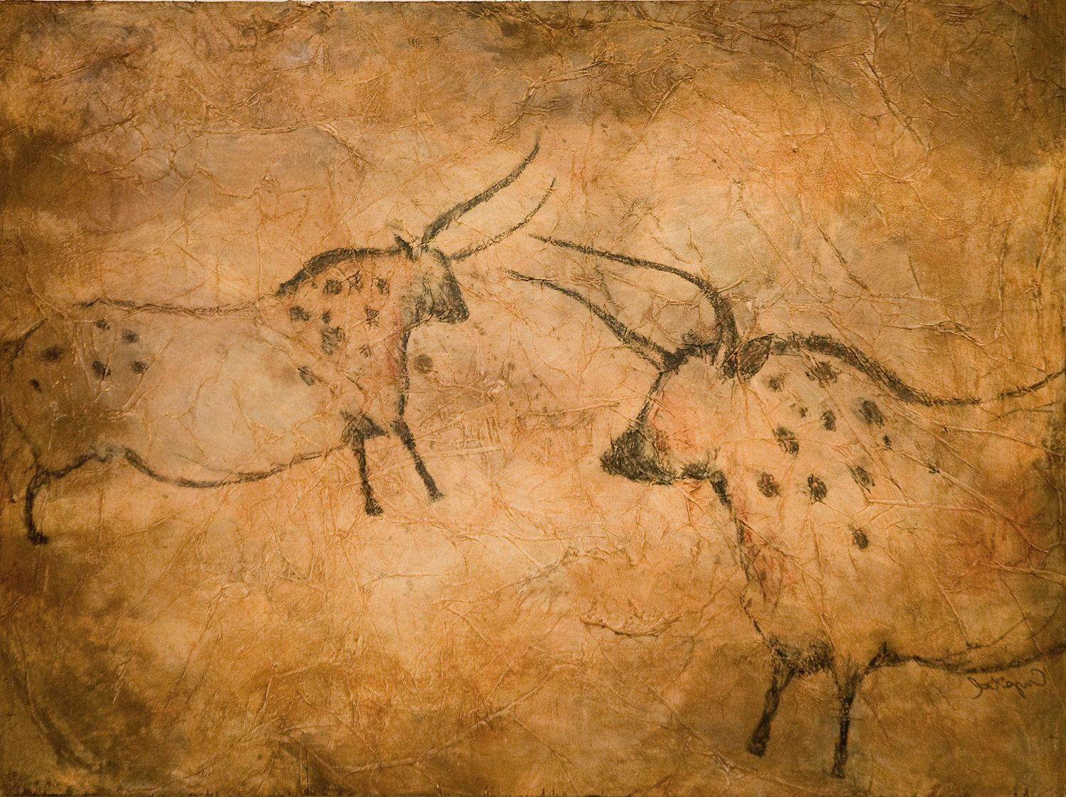 prehistoric art cave paintings Striking as the cave paintings of northern spain may be, they're not the only art  form dating back to the ice age they may not even be the oldest equally.