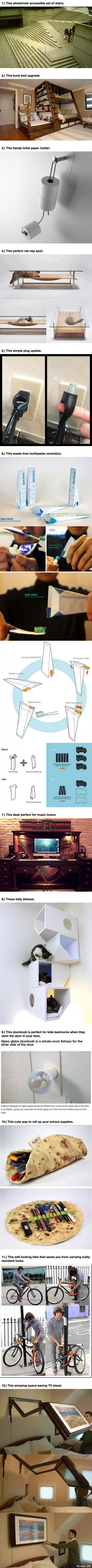 These 12 Designs Are So Brilliant Perfect That They'll Change Your Life - 9GAG
