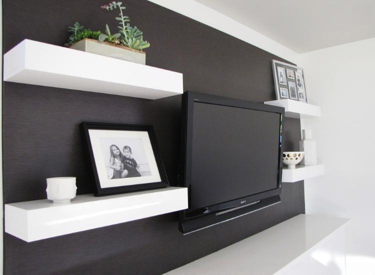 tv wall Decoraci³n Pinterest