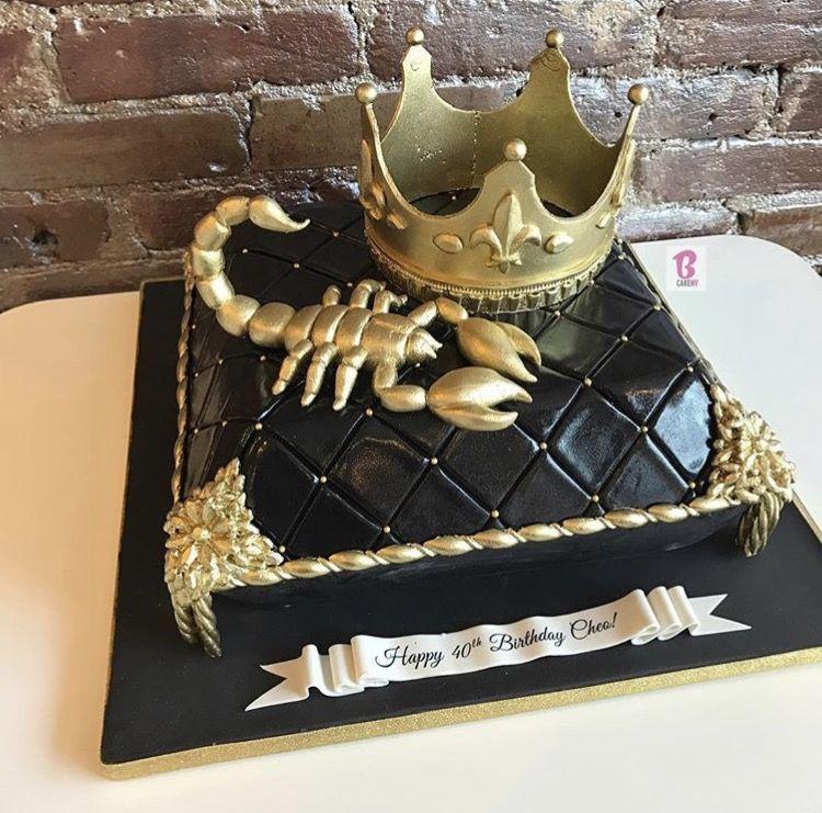 Scorpio Cake Bcakeny Cakes Brithday Cake Unique