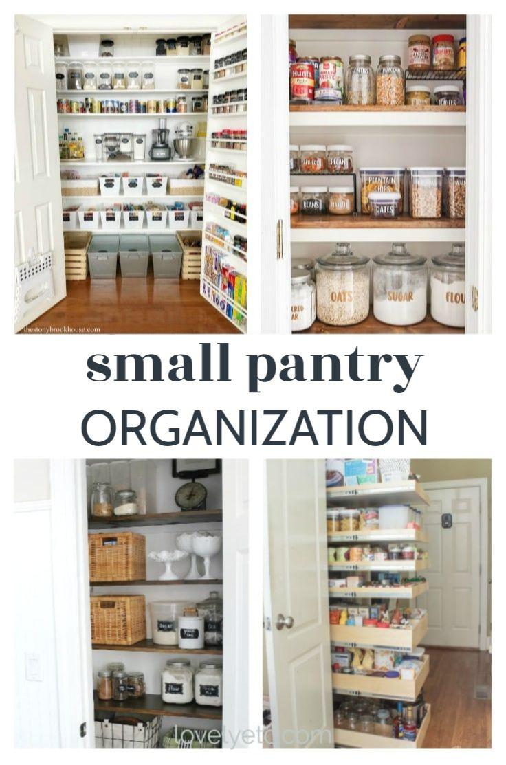 25 Small pantry organization ideas