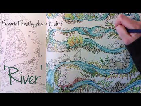 Enchanted Forest Johanna Basford River Enchanted Forest Coloring Book Johanna Basford Enchanted Forest Enchanted Forest Coloring