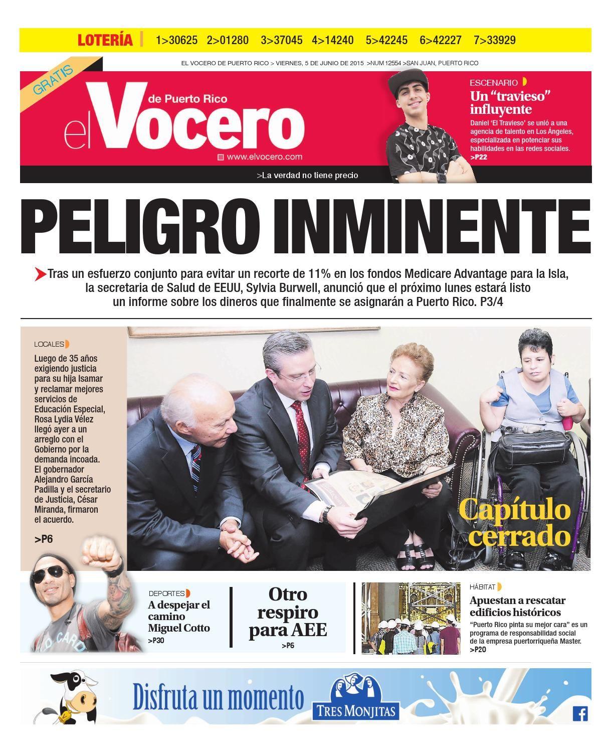 Edición 5 de Junio 2015  El Vocero de Puerto Rico