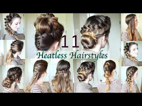 50 Elegant Heatless Hairstyles for Layered Hair