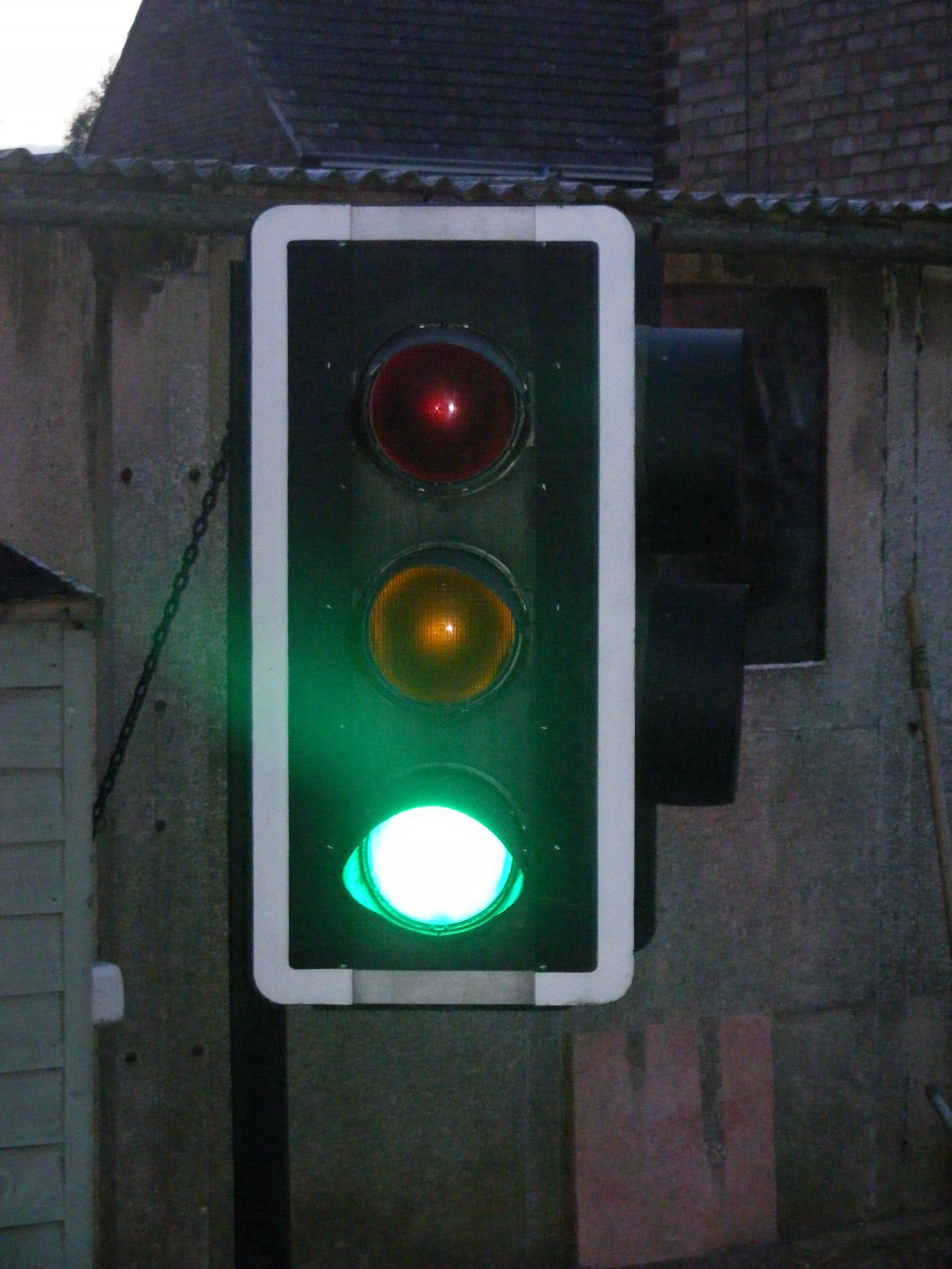 Real Traffic Lights Go Lights Traffic Light Lamp