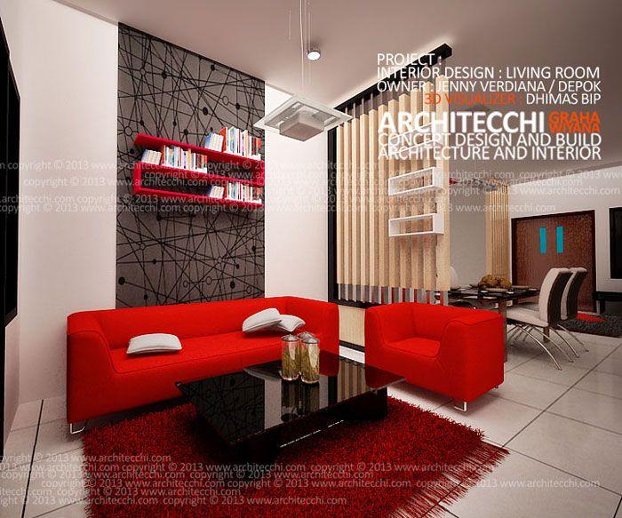 Desain Ruang Tamu Cafe  architecchi arsitek desain interior arsitek interior