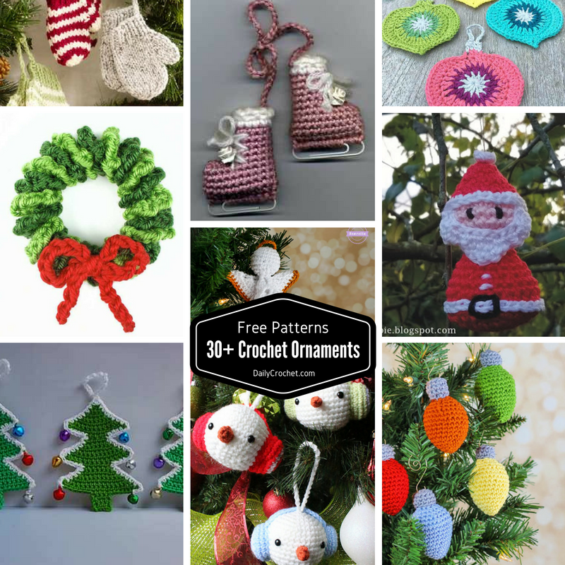 decorate your tree with beautiful crochet christmas tree ornaments this holiday season crafting beautiful decorations - Beautiful Decorations For Your Home
