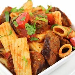 Johnsonville Italian Sausage Rigatoni  @Allrecipes.com @Brietta Kay #JvilleKitchens