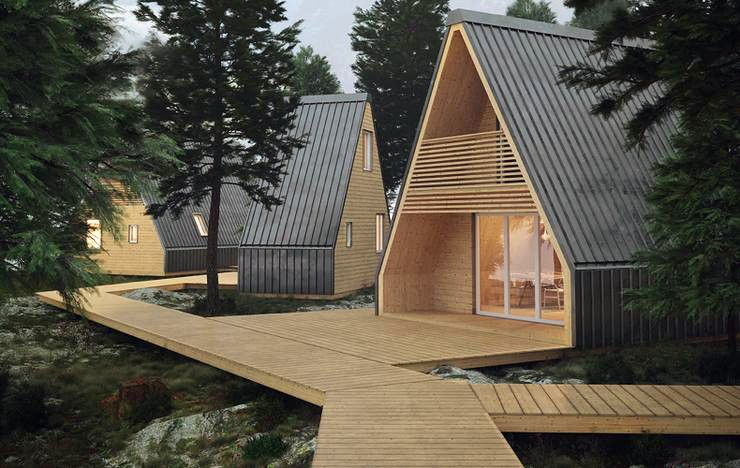 6 Prefab A Frame Cabin Kits You Can Buy Right Now Cabin Design