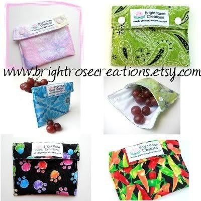 Angel SET wet bag wrapper snack bag pattern