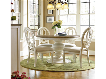 universal furniture summer hill round dining table 987656