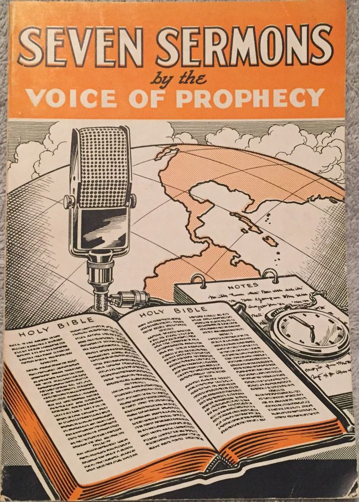 Seven Sermons By The Voice Of Prophecy HMS Richards 1942