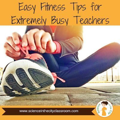 easy fitness tips for extremely busy teachers with images