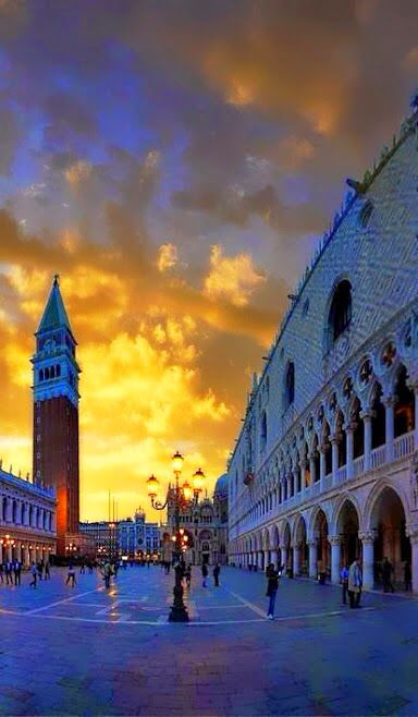 Plaza San Marcos. Venecia. Italia