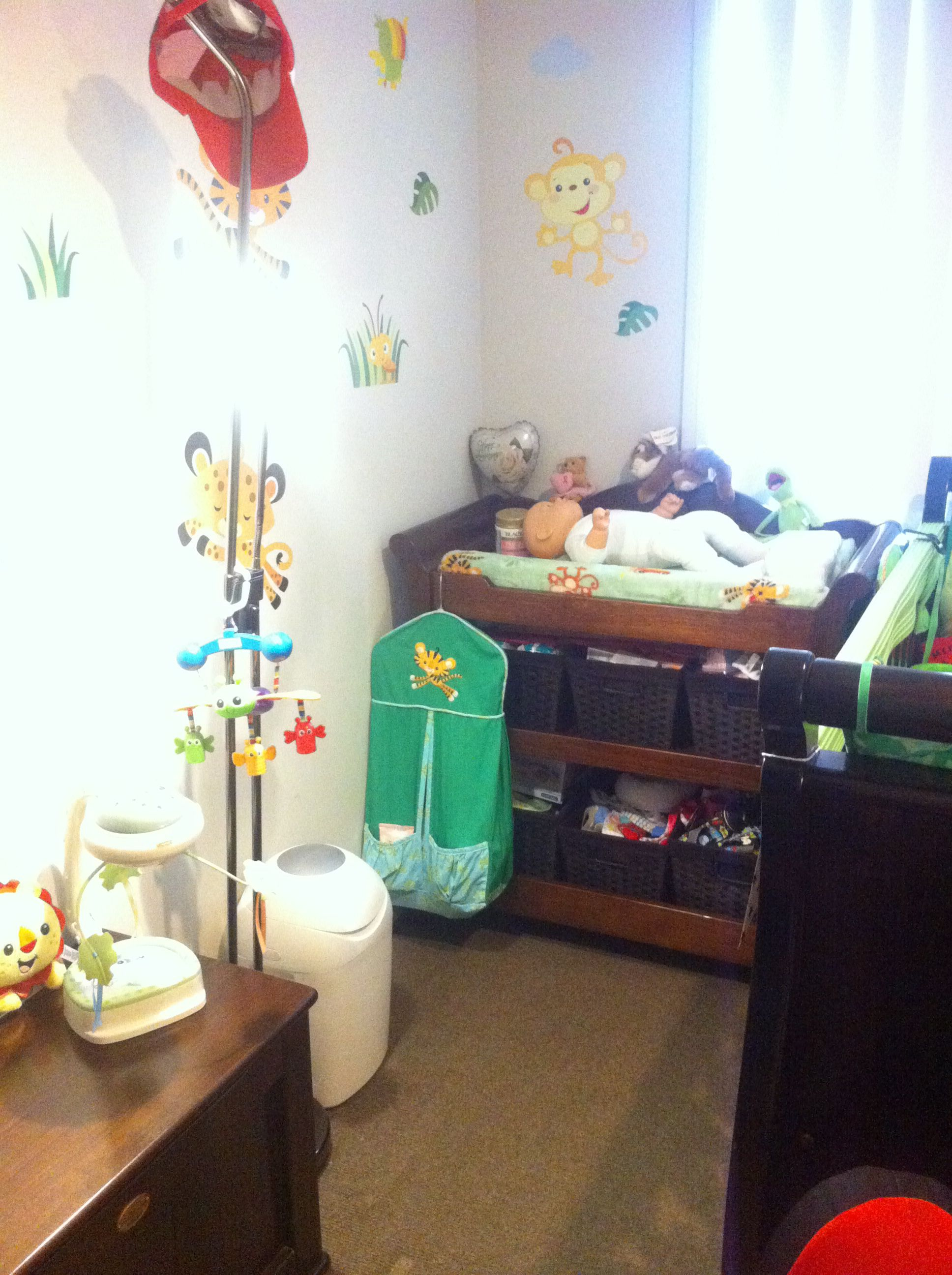 Our Fisher Price Rainforest Nursery