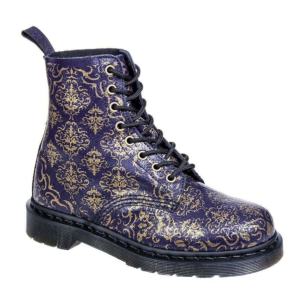 Stiefel Boots Dr. Martens 8 Loch Pascal Dress Blues