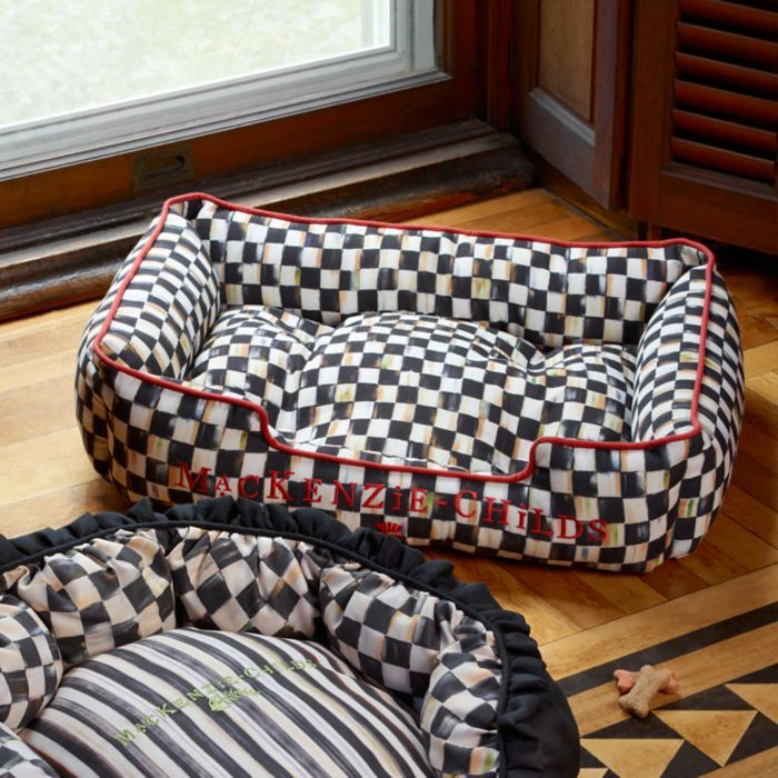 Pin by Lynne on Mackenzie Childs Built in dog bed, Dog