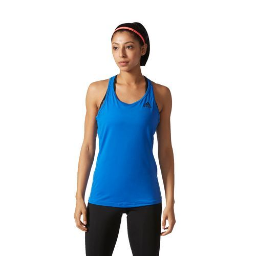 03b77d96fee4b6 The adidas™ Women s Performer Baseline Tank Top features climalite® fabric  and a racerback.