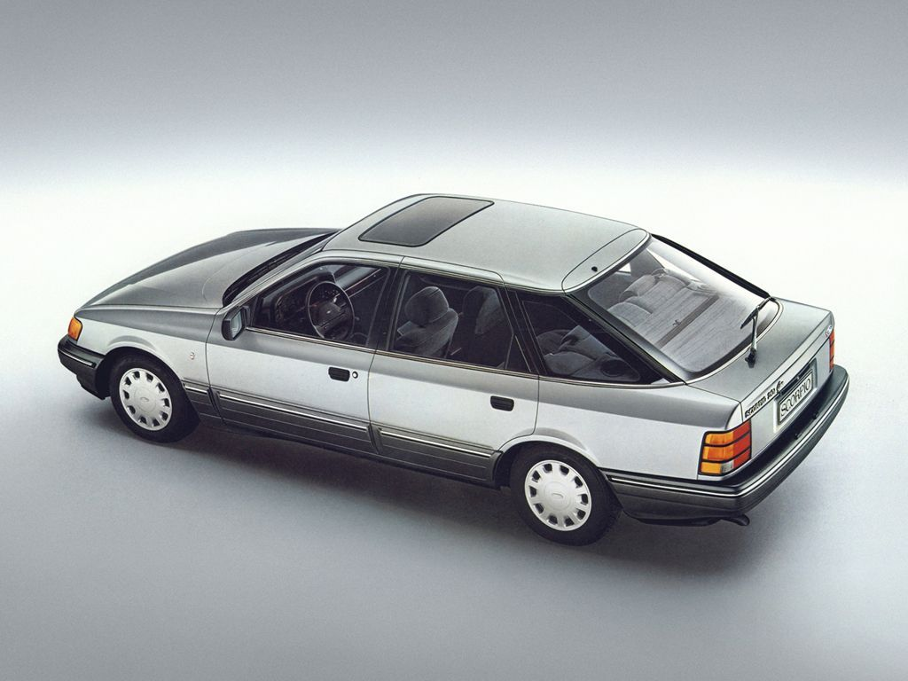 Ford Scorpio Ghia 1986 The Scorpio Is An Executive Car Produced By Ford Europe From 1985 To 1998 It Was The Repl Ford Granada Car Ford Ford Motor Company