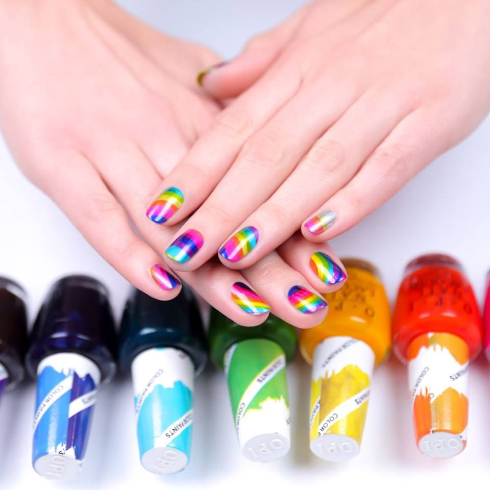 NEW! NEW! NEW! OPI Color Paints are a new line of nail polishes that ...