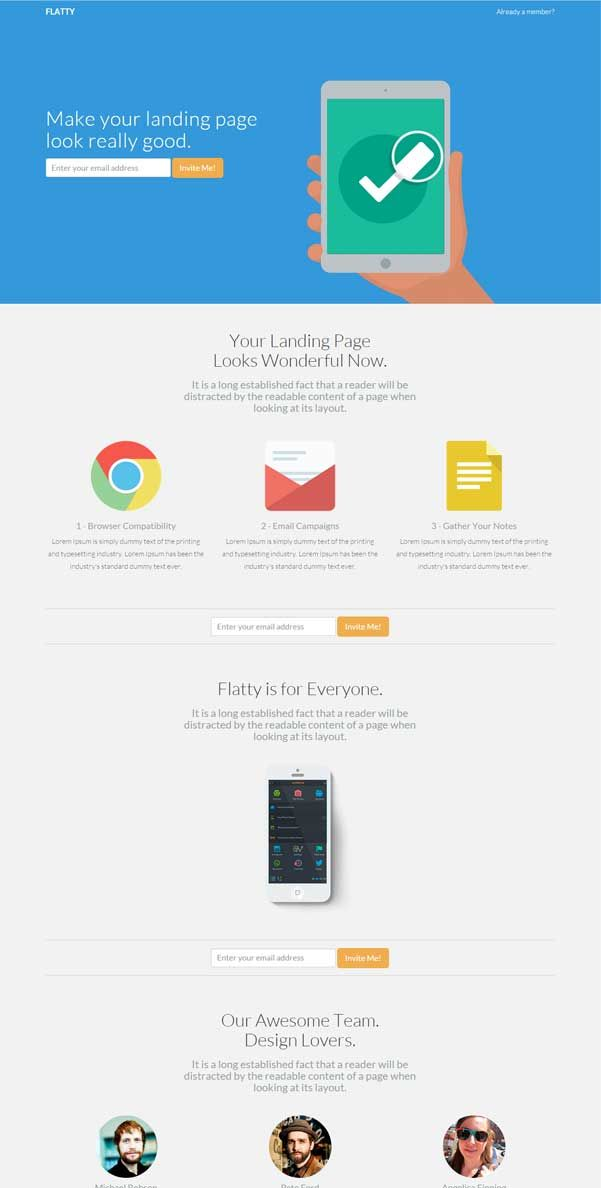 30 Bootstrap Website Templates Free Download Landing Page App Landing Page Bootstrap Template