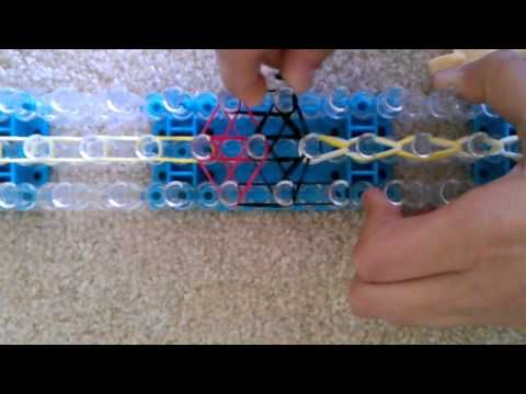 ▶ Rainbow Loom Tutorial: The Mickey Mouse Bracelet - YouTube
