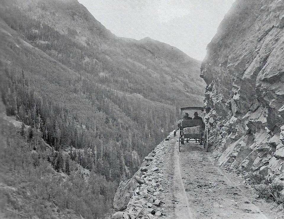 In 1883, Ouray County had undertaken the building of a