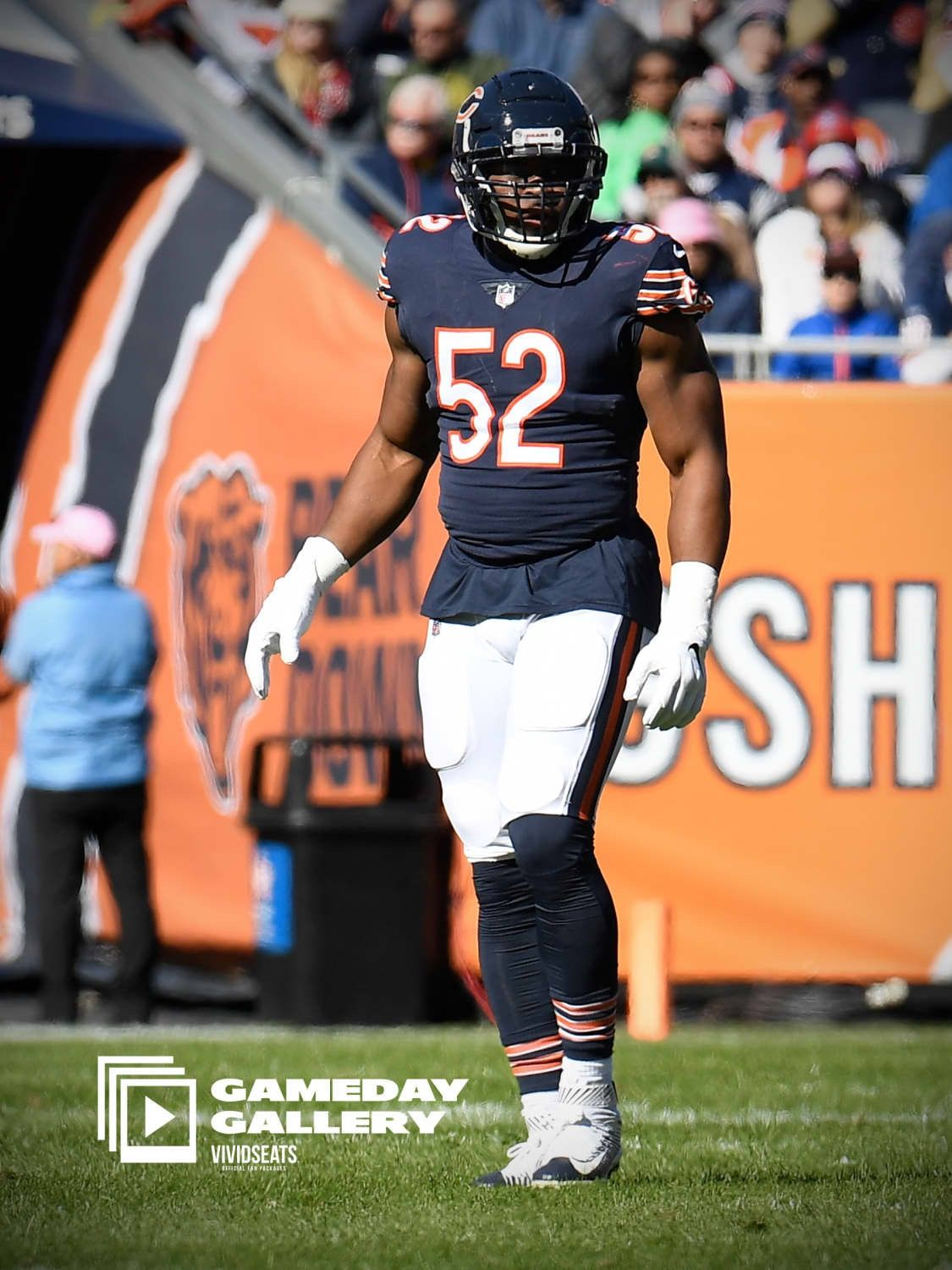 025a70fc Khalil Mack | Chicago Bears | Nfl chicago bears, Bears football, Nfl ...