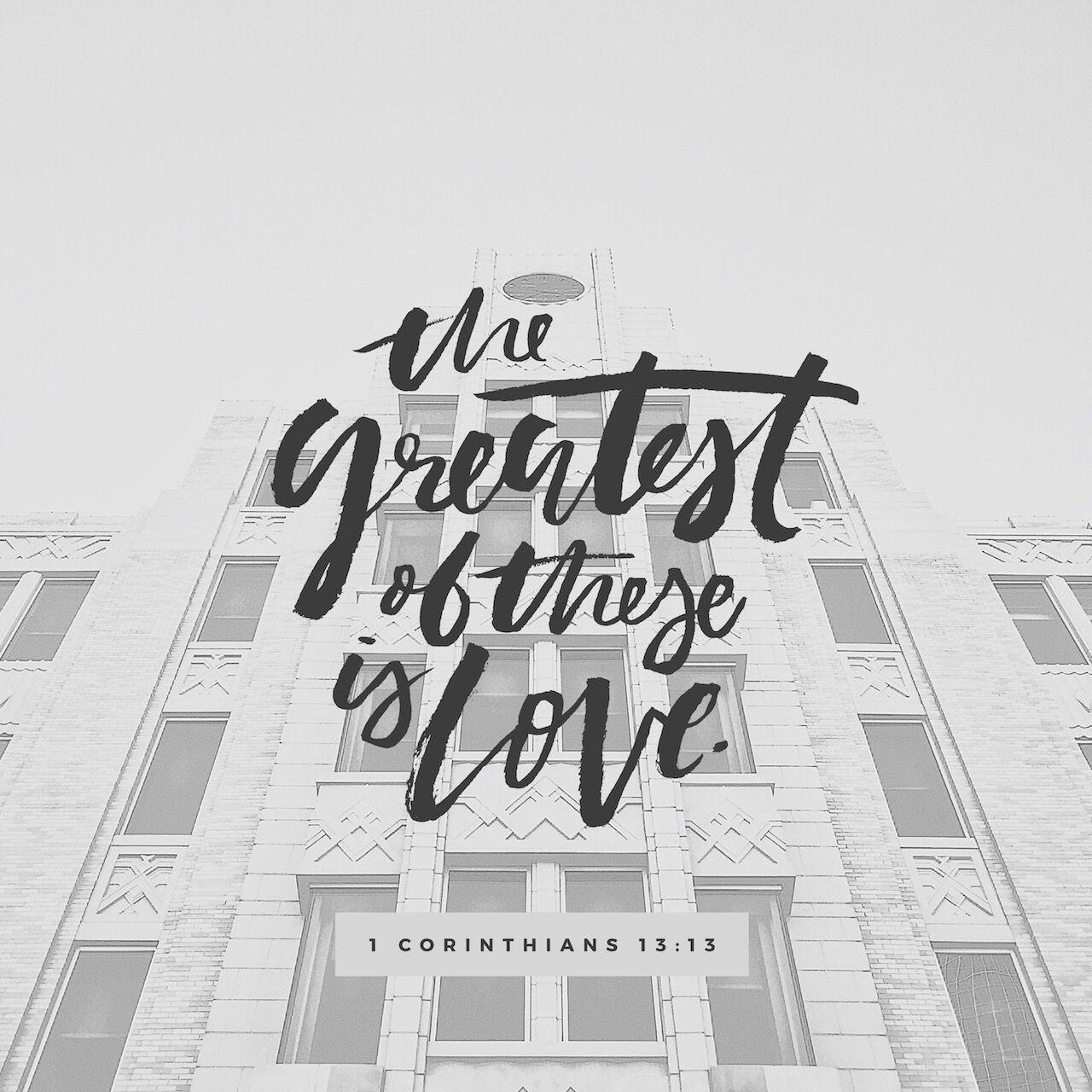 I Corinthians 1313 NKJV Corinthians 13, 1