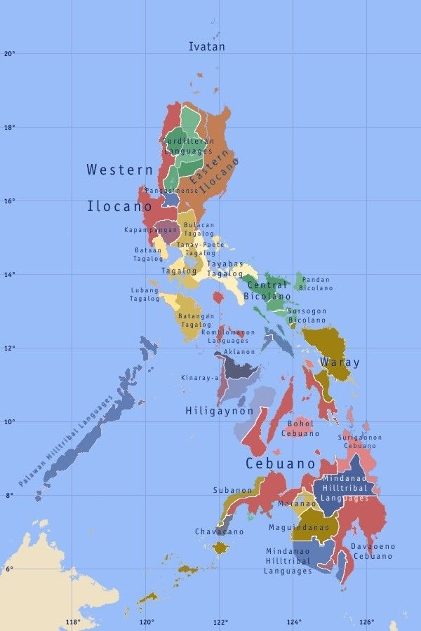 Map of the languages of the philippines places pinterest map of the languages of the philippines publicscrutiny Images
