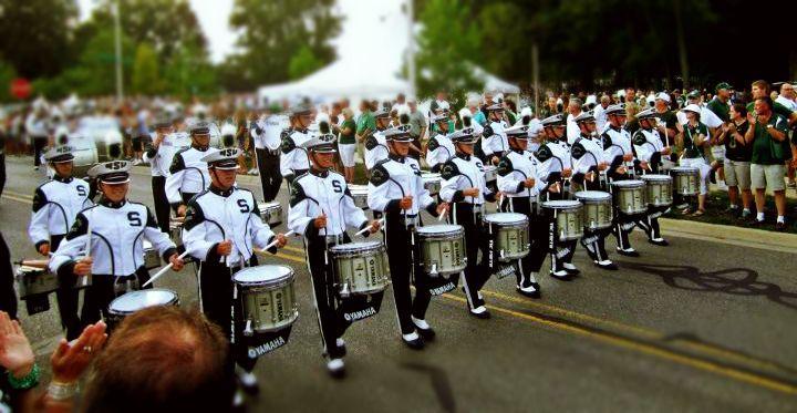 MSU drumline is the best