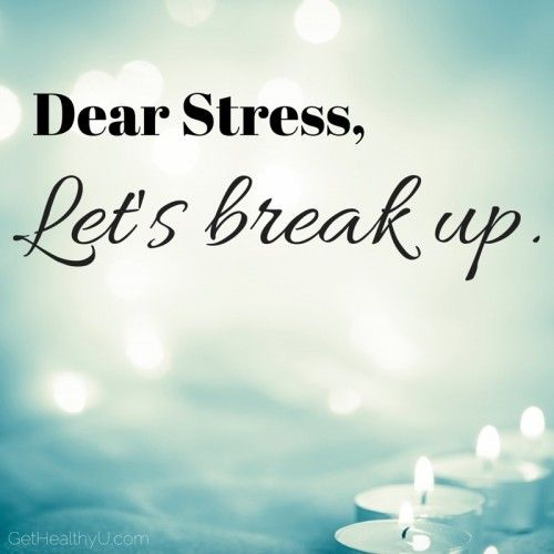Stress Less in 2015! Inspiration