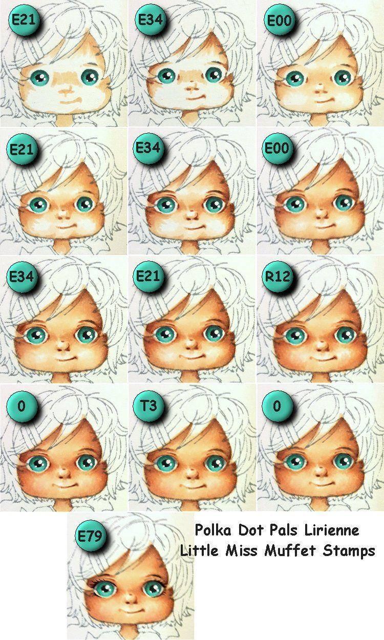 Face tutorial using Polka Dot Pals Lirienne from Little Miss Muffet ...