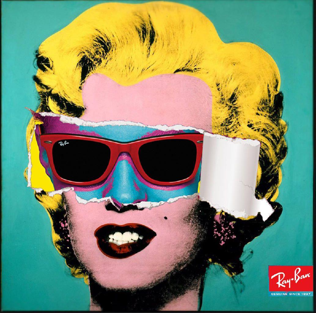 Andy warhol et Ray-Ban   art et publicité   Pinterest   Artiste, Art ... 1f1a2f7c2ccb