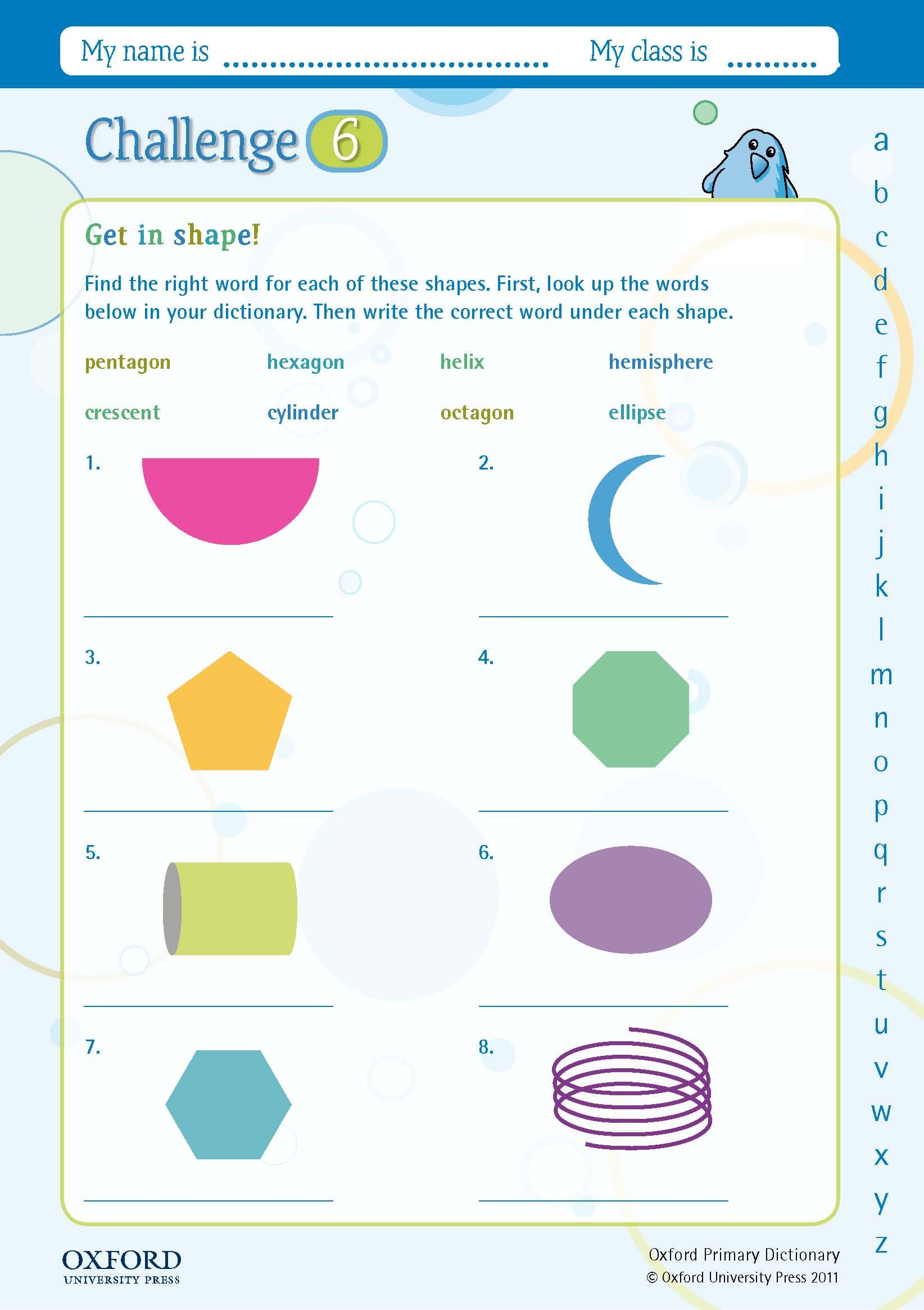 Download Your Free Oxford Primary Dictionary Challenge Worksheet Find The Right Word For Each Of These S Kindergarten Skills Classroom Themes Learning Letters [ 2330 x 1644 Pixel ]