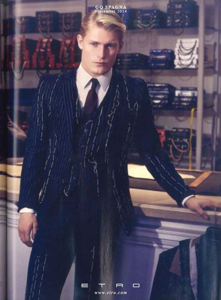 The #ETROman as featured in GQ Spain - September 2014 #ETROeditorial #fashion #style
