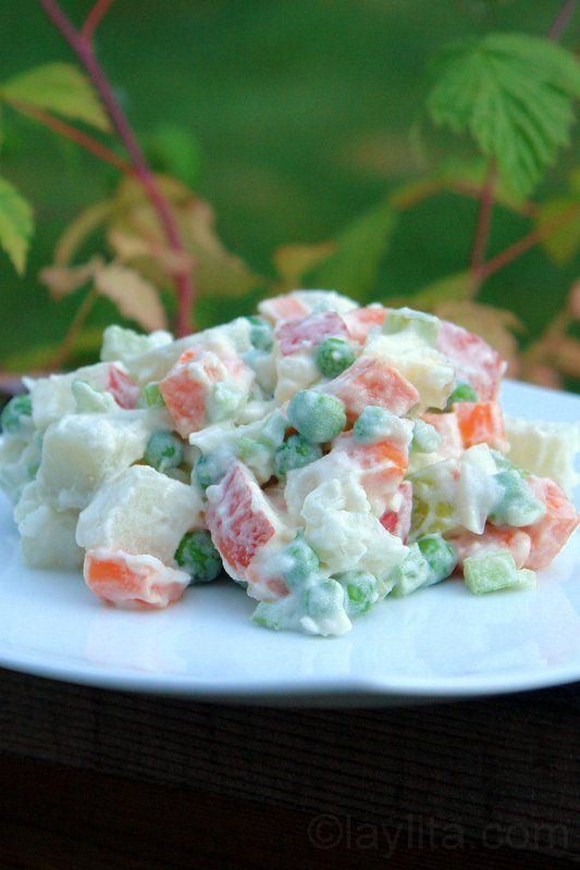 Potato Salad Recipe With Carrots And Celery