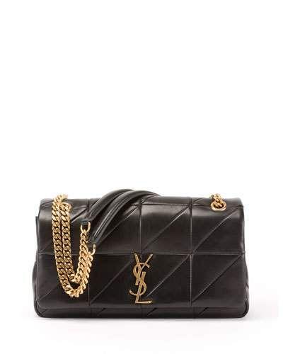 3e86ab7340e1 SAINT LAURENT JAMIE MEDIUM DIAMOND-QUILTED CHAIN SHOULDER BAG - BRONZE  HARDWARE. #saintlaurent #bags #shoulder bags #leather #lining #cotton #
