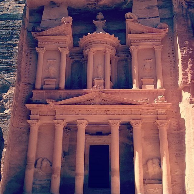 Alkhazneh Is One Of The Most Elaborate Temples In Thehellip Travel Inspiration Island Travel