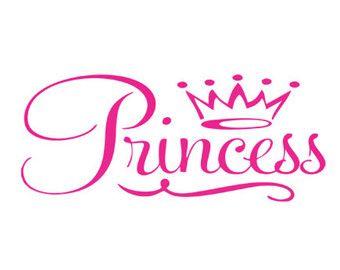 Crown Vinyl Decal Sticker Car Window Wall Laptop Queen King Prince Princess Art