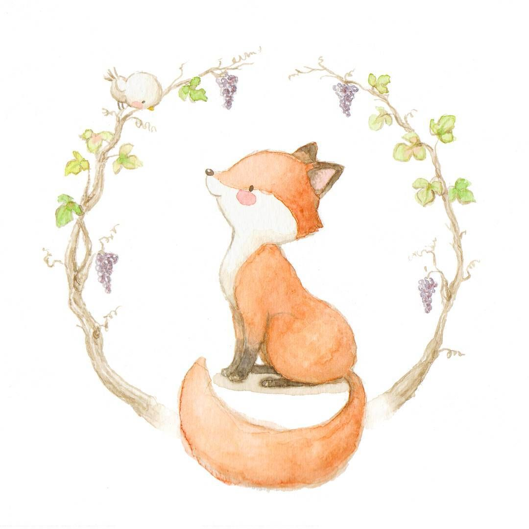 Consulta esta foto de instagram de aidazamorailustracion for Cute watercolor paintings