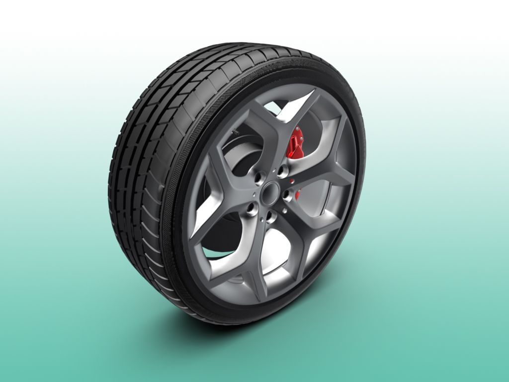 Wheel Tire 3d Model This Royalty Free 3d Model Or Texture Is Available For Download Now The Original File Is Created Using 3d 3d Model Car 3d Model Model