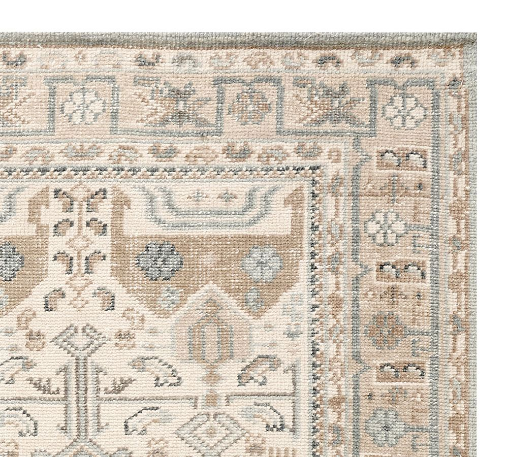 Nicolette Hand Knotted Wool Rug Swatch In 2021 Hand Knotted Rugs Rugs Wool Rug