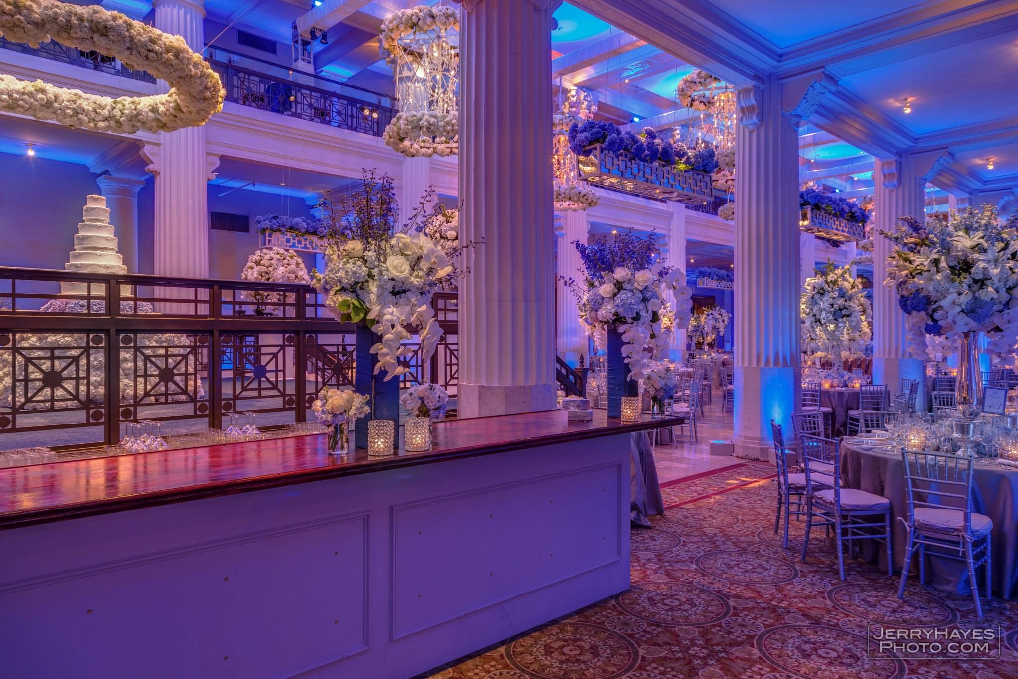 Flowers, Furnishings and Decor: Events In Bloom Planning: Angela Nix Photography: Jerry Hayes Photography — at The Corinthian.