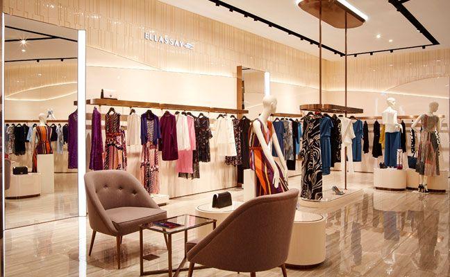 H&M sustainability (2020) | Visual merchandising fashion ... |Curved Line Display Visual Merchandising