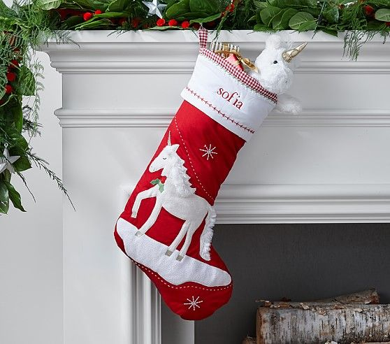 Quilted stocking collection pottery barn kids holiday