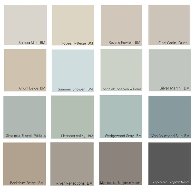 Popular Blue Paint Colors the new neutrals | neutral decorating, benjamin moore and house