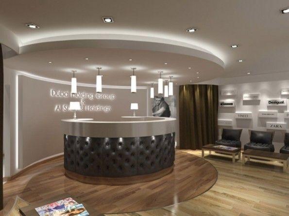 Office Reception Design #StandardProducts #Lighting | Office Light ...