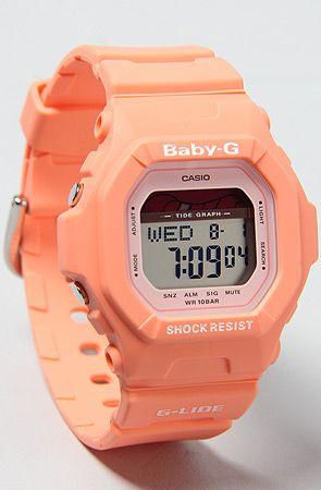 G Shock The Babyg Peach Watchlimited Edition Baby G Online Shop Accessories Peach Watch