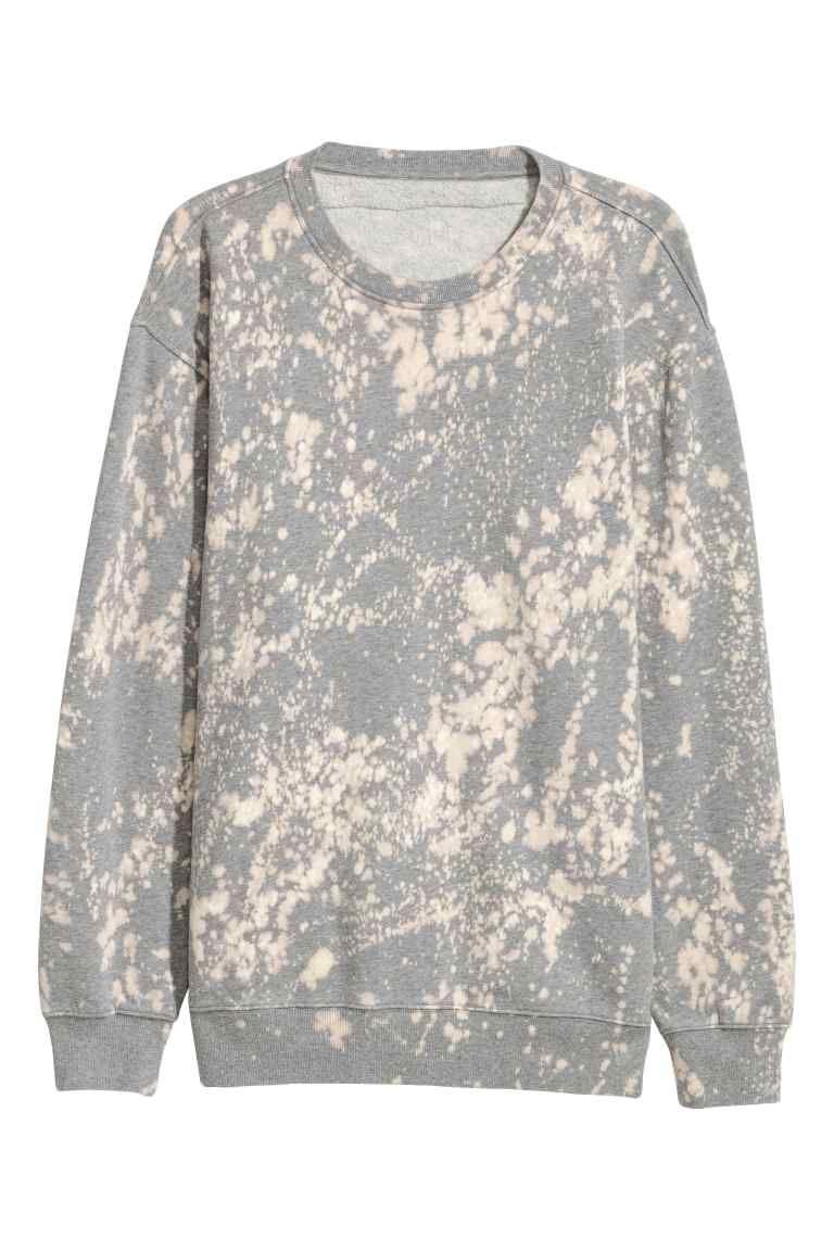 Bleached sweatshirt sweatshirts grey sweatshirt clothes